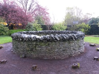 Andy Goldsworthy at the Botanical Gardens
