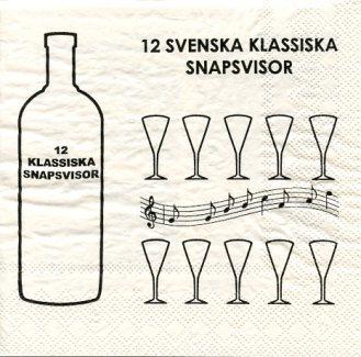 Gifted: Swedish Napkins Where: Swedish Countryside