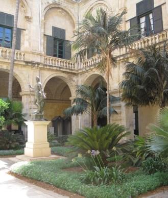 greenery! rare on Malta...