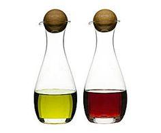 olive oil and vinegar dispensers