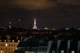 View from the Centre Pompidou at 9pm