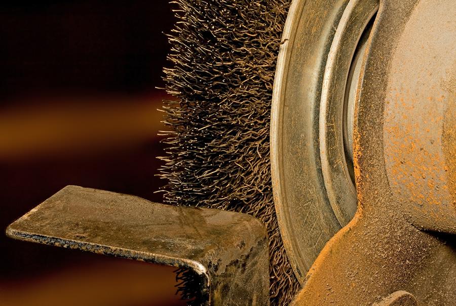 Mechanical Rust Removal Rainbow Powder Coating