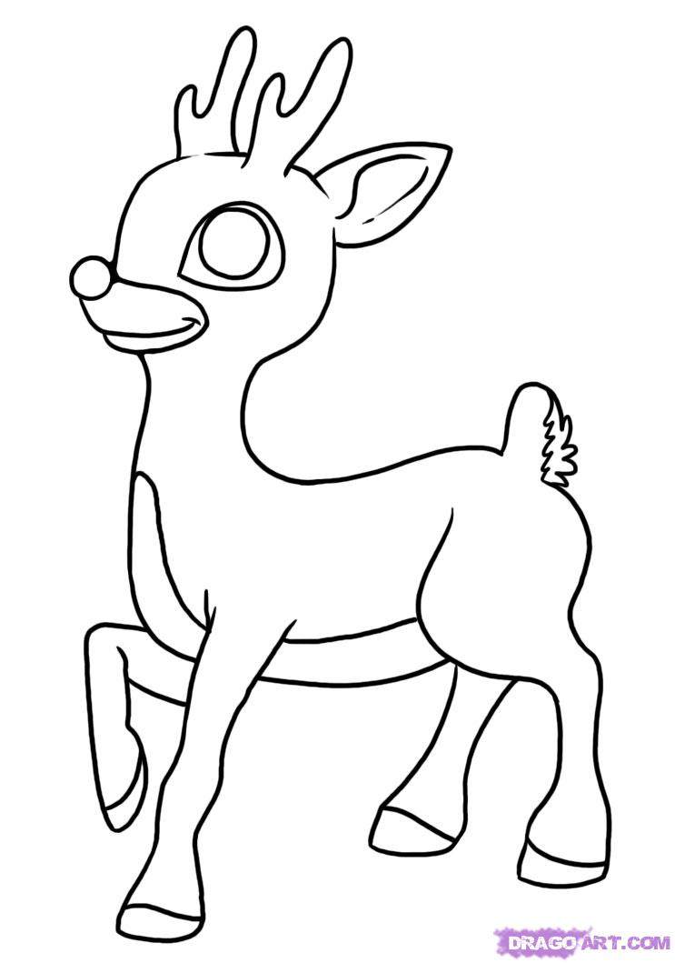 rudolph the red nosed reindeer christmas coloring pages coloring pages