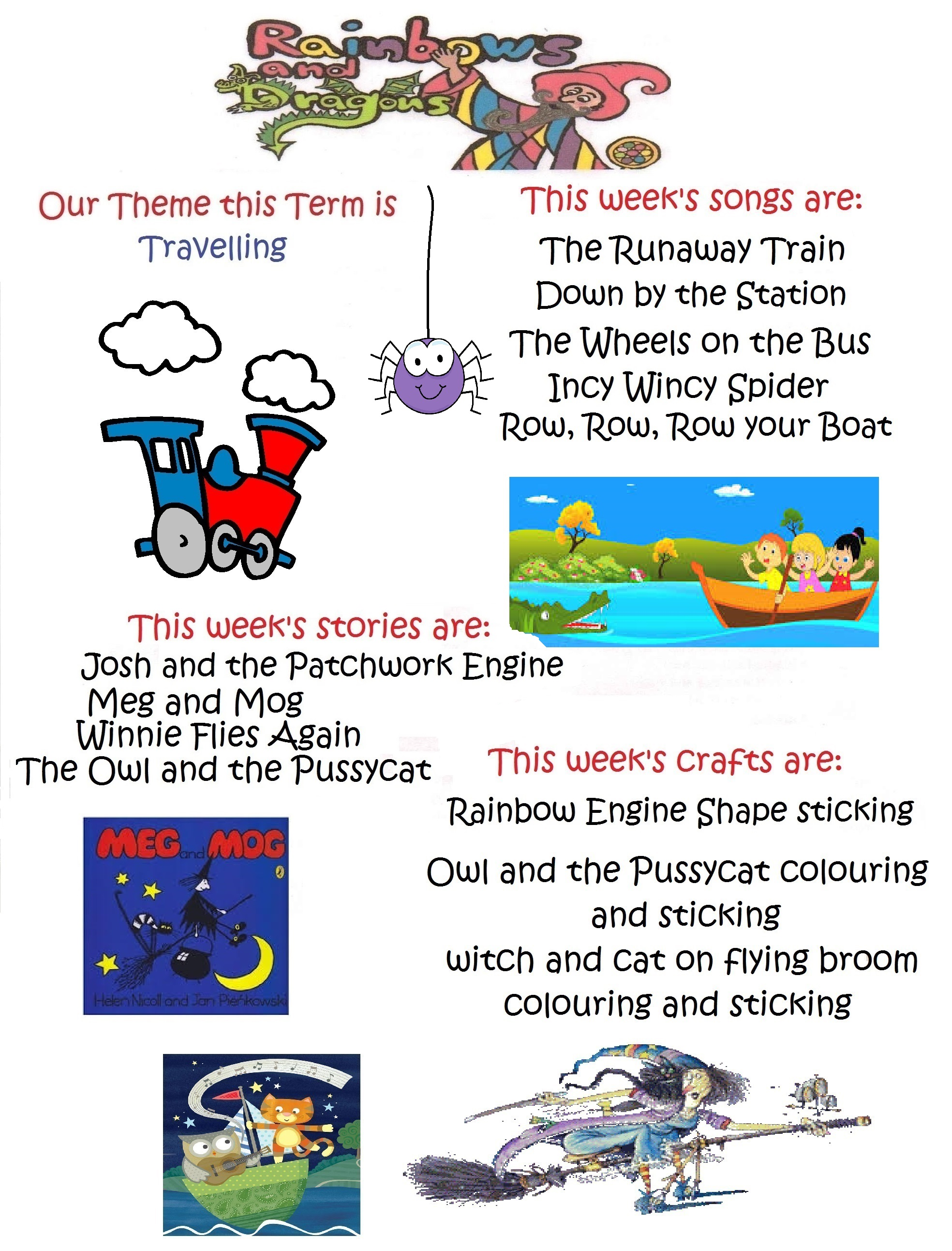 Row Your Boat Preschool Worksheet