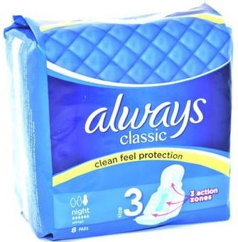 Always Classic  Maxi Pads Size 3