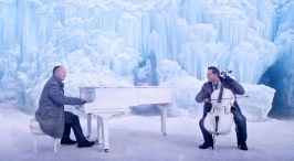 Music on ice.