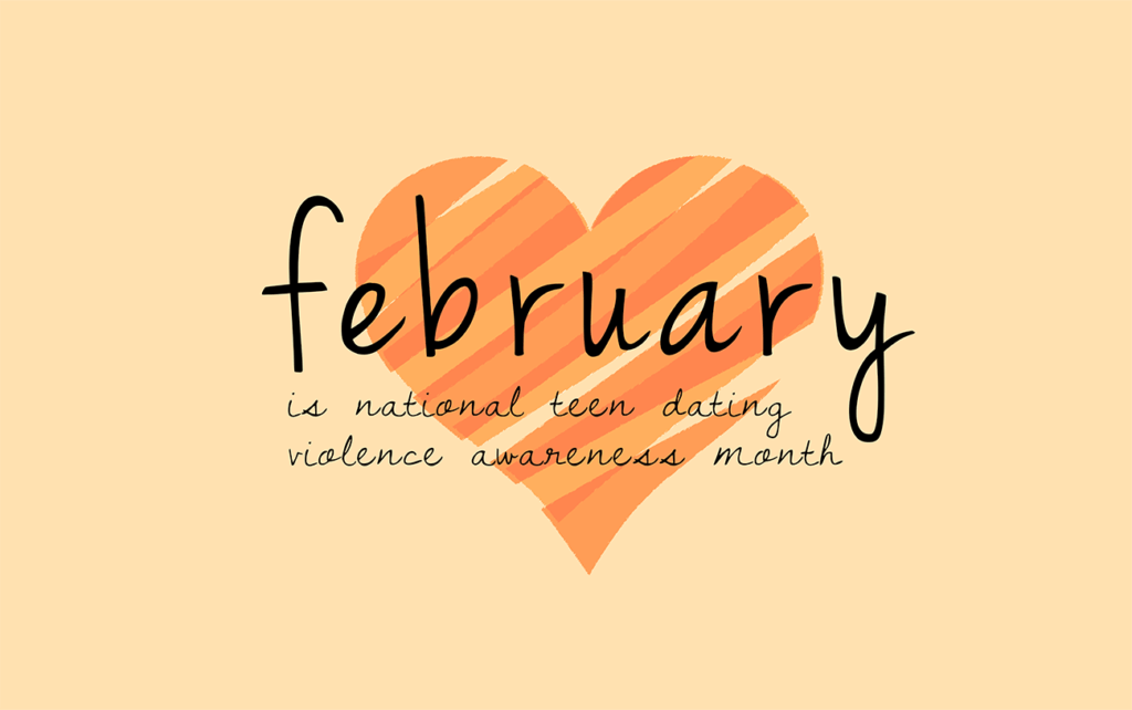 Image result for teen dating violence awareness month