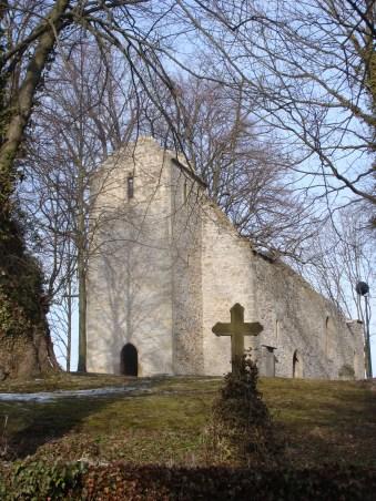 Kirchenruine in Abterode