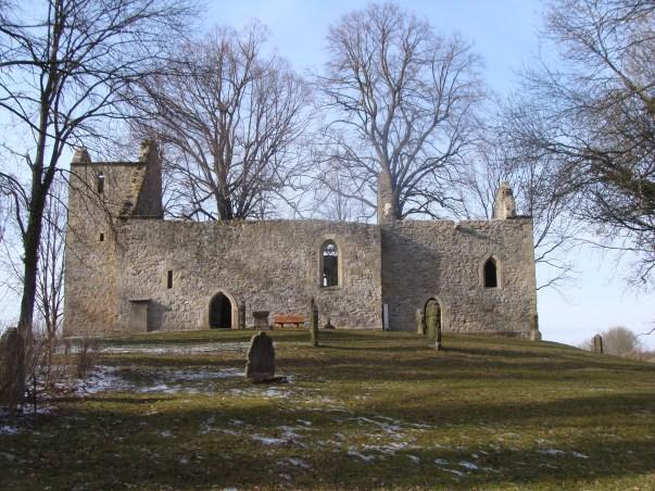 Die alte Pfarrkirchen-Ruine