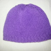 Fitted Beanie | Easy Knit Pattern