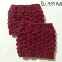Boot Cuff Love | Easy Knit Pattern