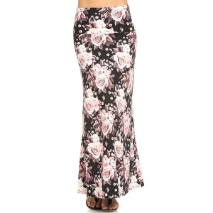 PINK-FLORAL-MAXI-SKIRT