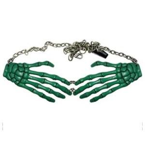 Skeleton-Hand-Necklace