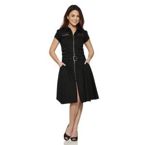 Long-Black-Detention-Dress