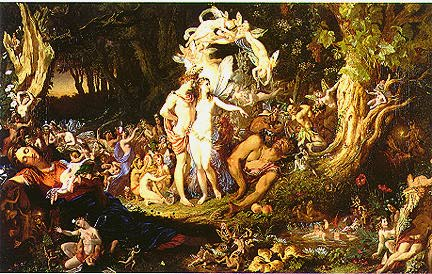 Fairies Oberon and Titania
