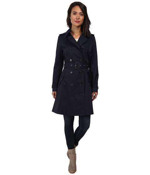 LAUREN by Ralph Lauren Skirted Women's Trench Coat
