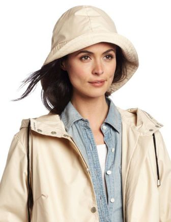 ILSE JACOBSEN Women's Waterproof Rain Coat
