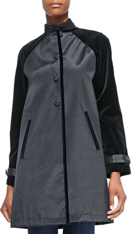 Ladies Rubberized Cotton Coat