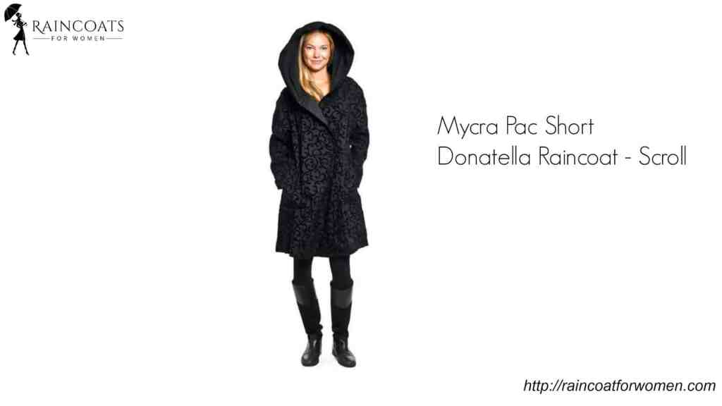 Mycra Pac Short Donatella Raincoat - Scroll