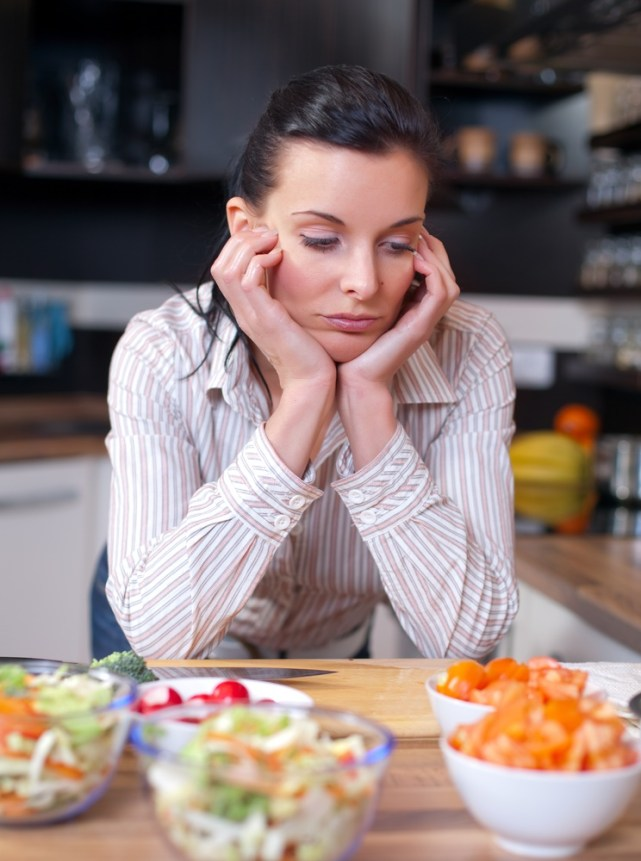 Holiday cooking stress