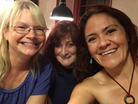 Wonderful meeting you ladies!