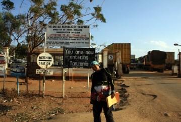 Entering Tanzania