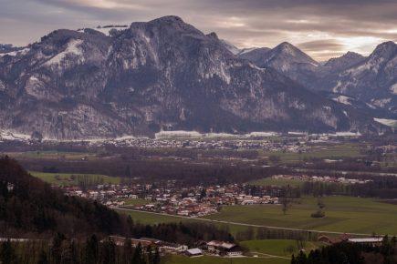 Blick auf Nußdorf & Flintsbach