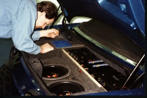 Fine Tuning a Custom Automotive Sound System, 1997