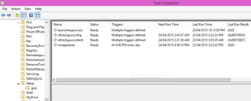 GWX-Tasks
