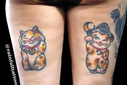 タトゥー 猫