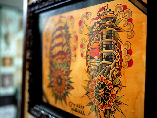 タトゥーのギャラリー