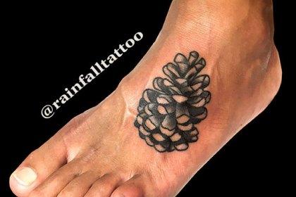 タトゥー 植物