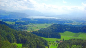 Zugersee (Lake Zug) -- photo by Nicchio