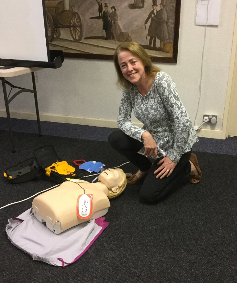 Liz Yeates - NW Emergency Lifesupport & AED Training