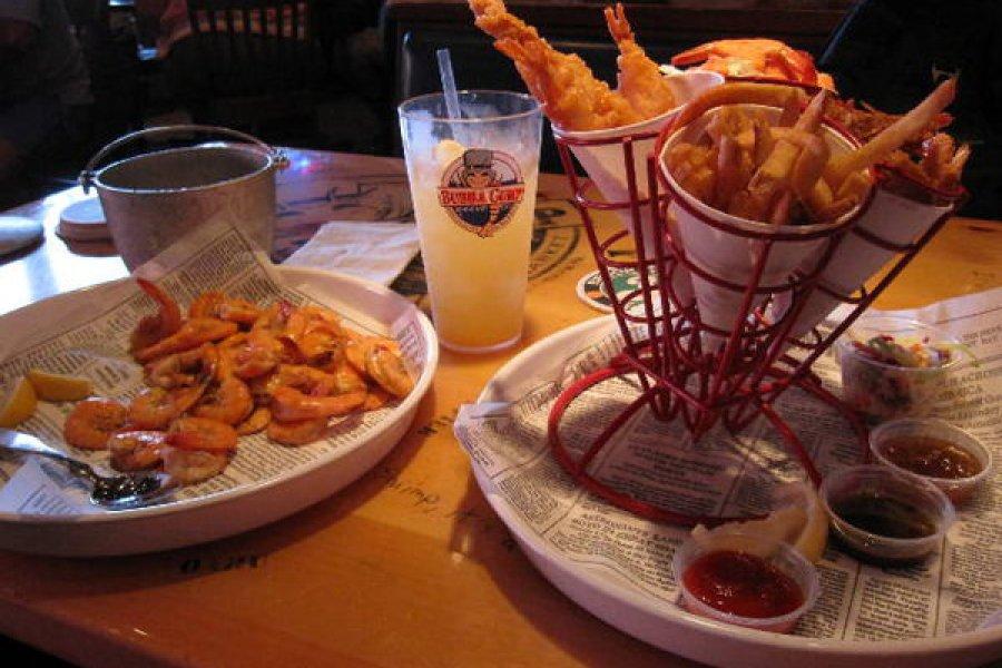 紐約   Bubba Gump Times Square 時代廣場阿甘蝦餐廳,Shrimp Shrimp!!!