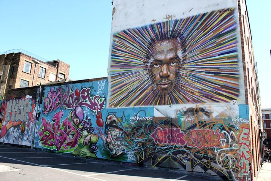 倫敦 London | 紅磚巷 Brick Lane – 街頭塗鴉藝術 Graffiti & 市集 Market