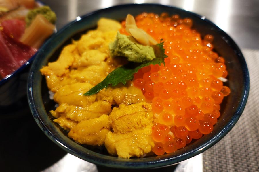 高雄三民   八十八丼 88 Donburi 銷魂海膽鮭魚卵雙色丼 x 超澎派海鮮丼飯