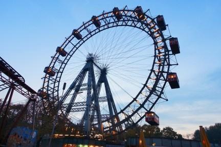 【維也納 Vienna】維也納摩天輪 Wiener Riesenrad 現存最古老摩天輪