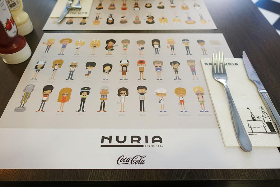巴塞隆納 Barcelona   Restaurant NURIA 複合式餐廳
