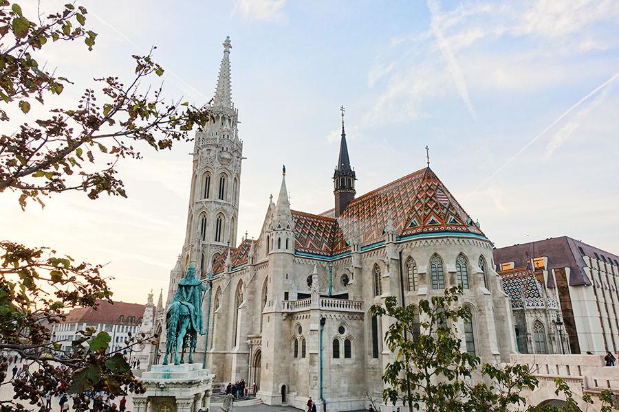 布達佩斯   馬提亞斯教堂 Mátyás Templom 多元融合的美麗殿堂