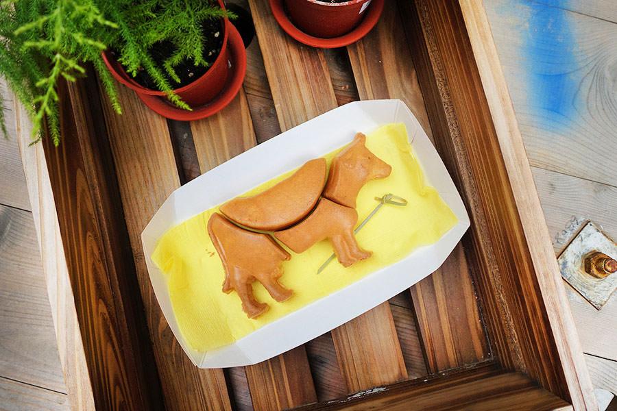 Lubentan 肢牛創意雞蛋糕,台南動物拼圖系列~嗑掉整頭牛!!