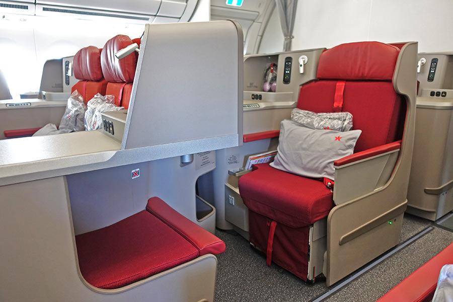 香港航空 Hong Kong Airlines | HX61 舊金山SFO→香港HKG A350-900 商務艙飛行紀錄 座位選擇推薦