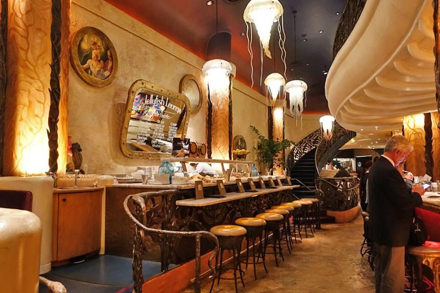 舊金山 | Farallon Restaurant 水母酒吧,美味生蠔精緻餐點