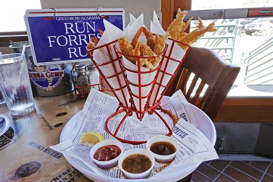 洛杉磯 | Bubba Gump 阿甘蝦餐廳 Santa Monica 蝦料理吃個過癮!!