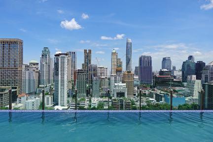 曼谷 Hotel Indigo Bangkok 高空泳池飯店,挑戰絕美天際線