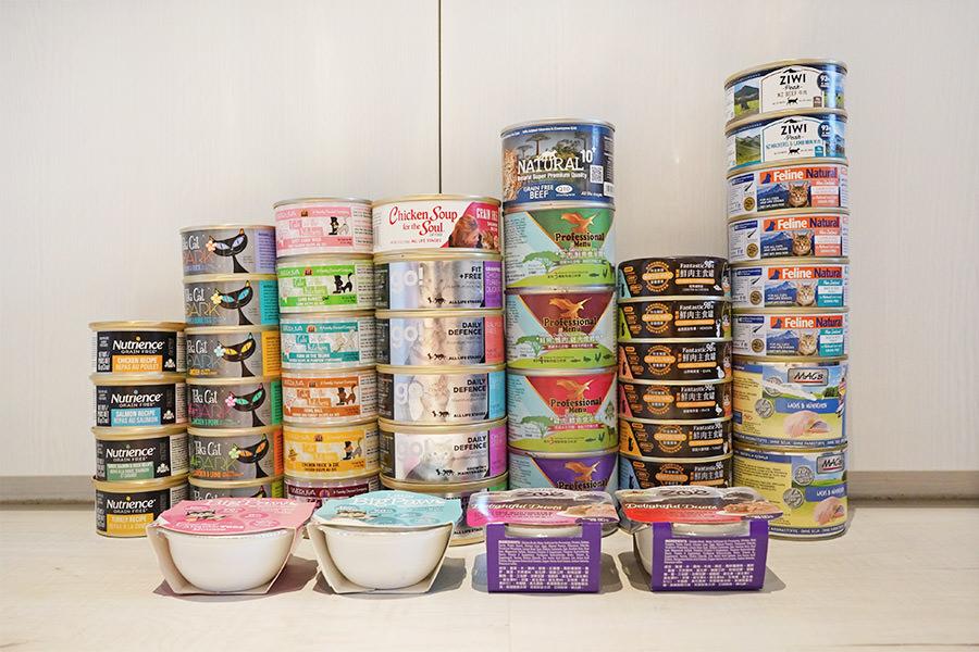 貓咪商業主食罐品牌口味挑選,挑食貓牙牙日常飲食紀錄
