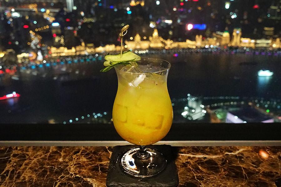 上海酒吧 | Flair Rooftop Restaurant & Bar 浦東麗思卡爾頓58F,東方明珠塔高空景觀餐酒館