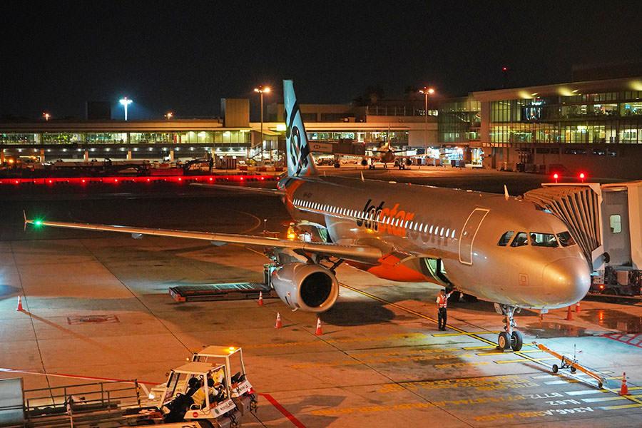 捷星航空 Jetstar Airways | JQ117 新加坡SIN ⇒ 峇里島DPS 飛行紀錄