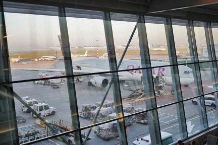 卡達航空 Qatar Airways | QR263 杜哈DOH ⇒ 華沙WAW 飛行紀錄