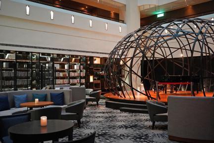 台東桂田喜來登酒店 Sheraton Taitung Hotel 尊爵行政房、飯店設施、lounge 酒廊分享